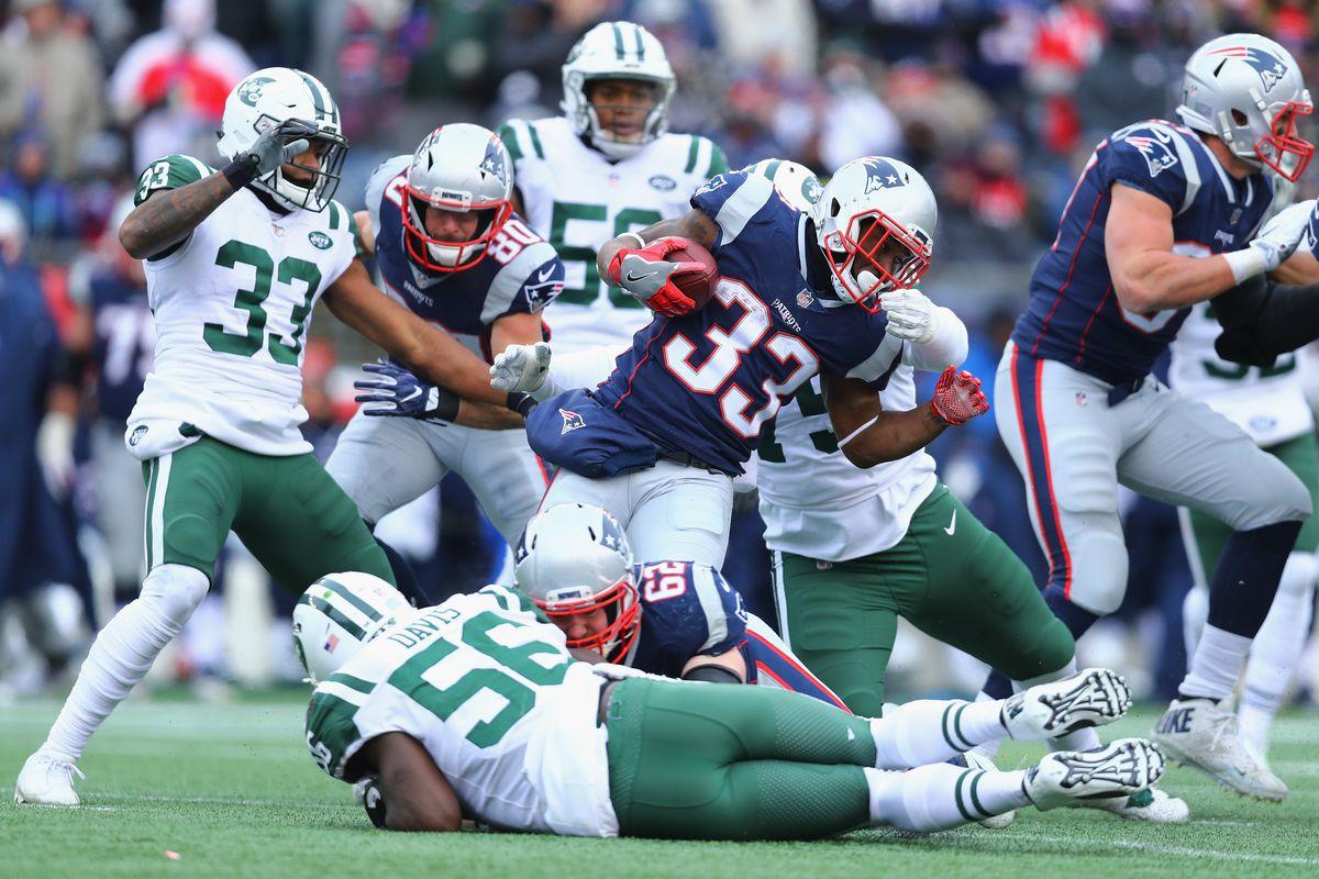 New York Jets vNew England Patriots