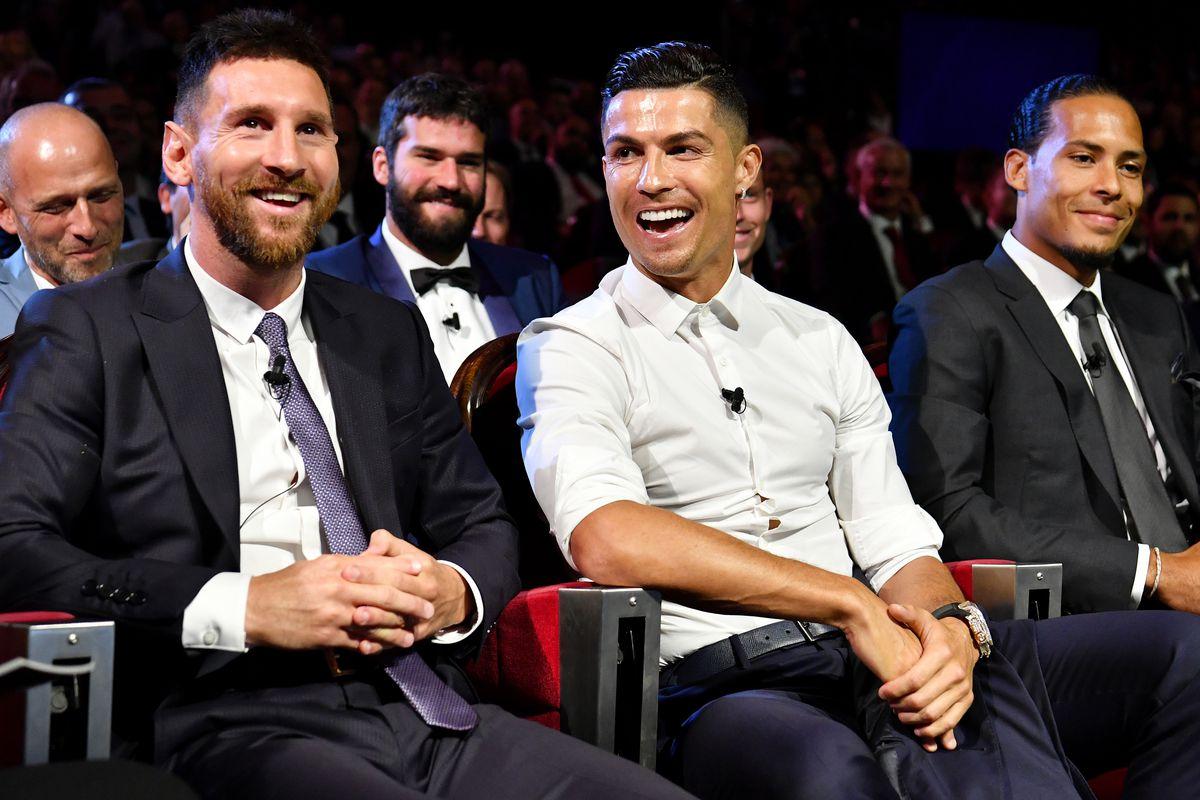 Lionel Messi & Cristiano Ronaldo - UEFA Champions League 2019-2020 - UCL Draw