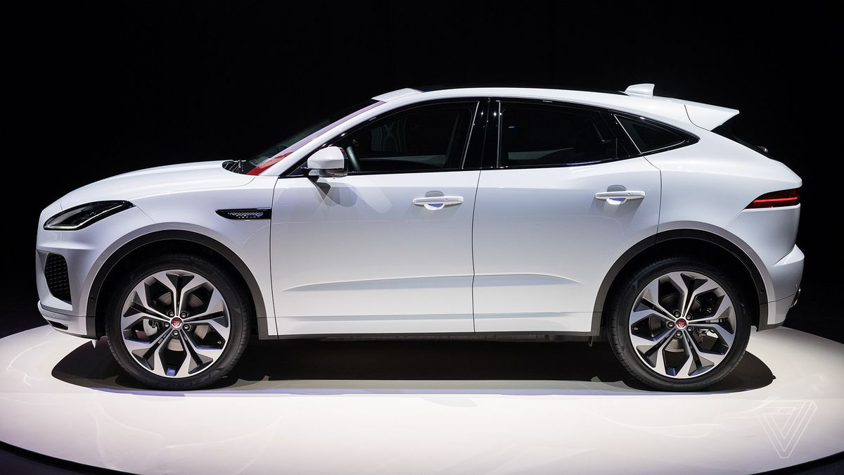 Jaguar reveals E-Pace, the crossover SUV for millennial couples - The Verge