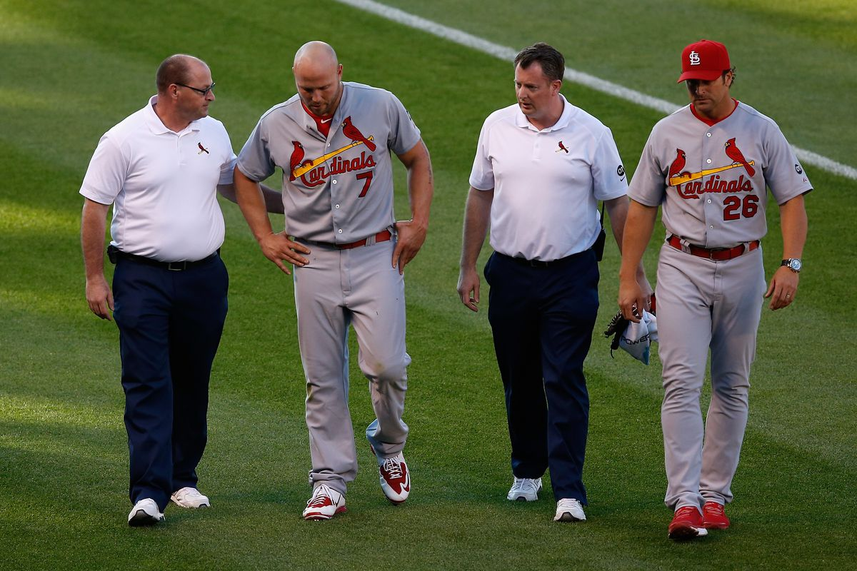 Recapping the injuries of the St  Louis Cardinals in 2015