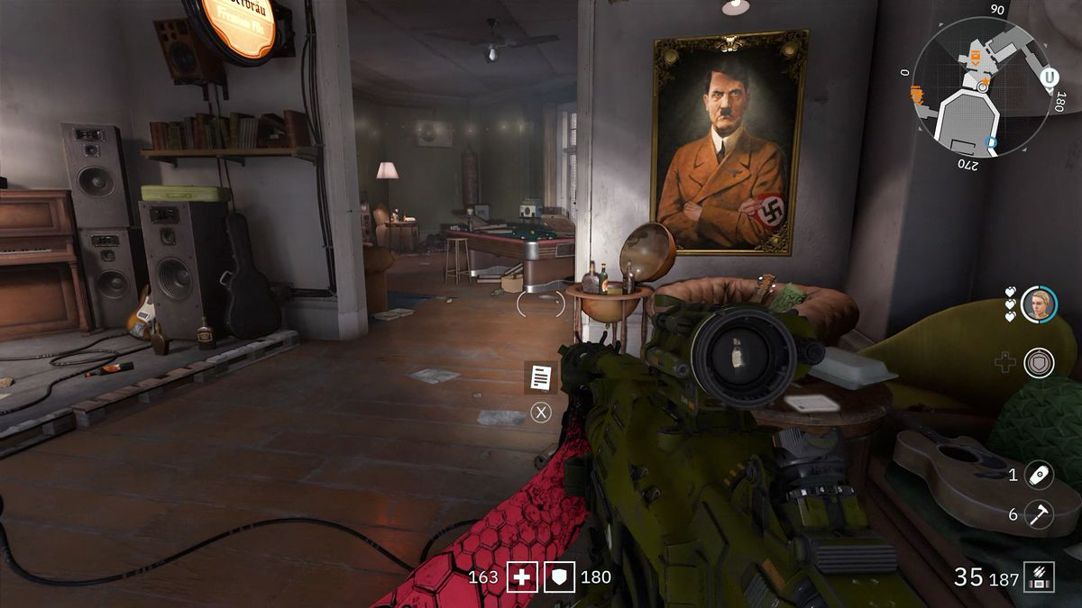 Wolfenstein: Youngblood Readable 25 collectibleProducer Uwe's Letter
