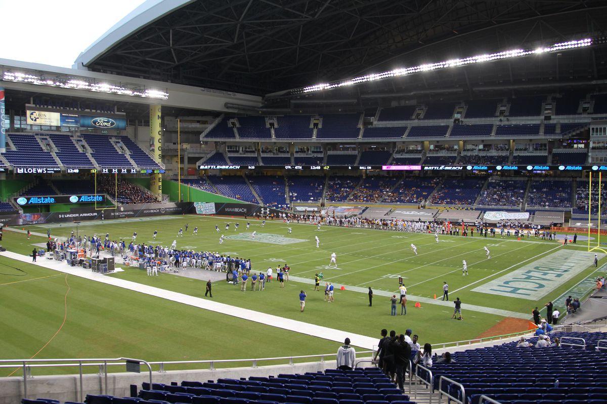 Miami Beach Bowl: Central Michigan vs. Tulsa
