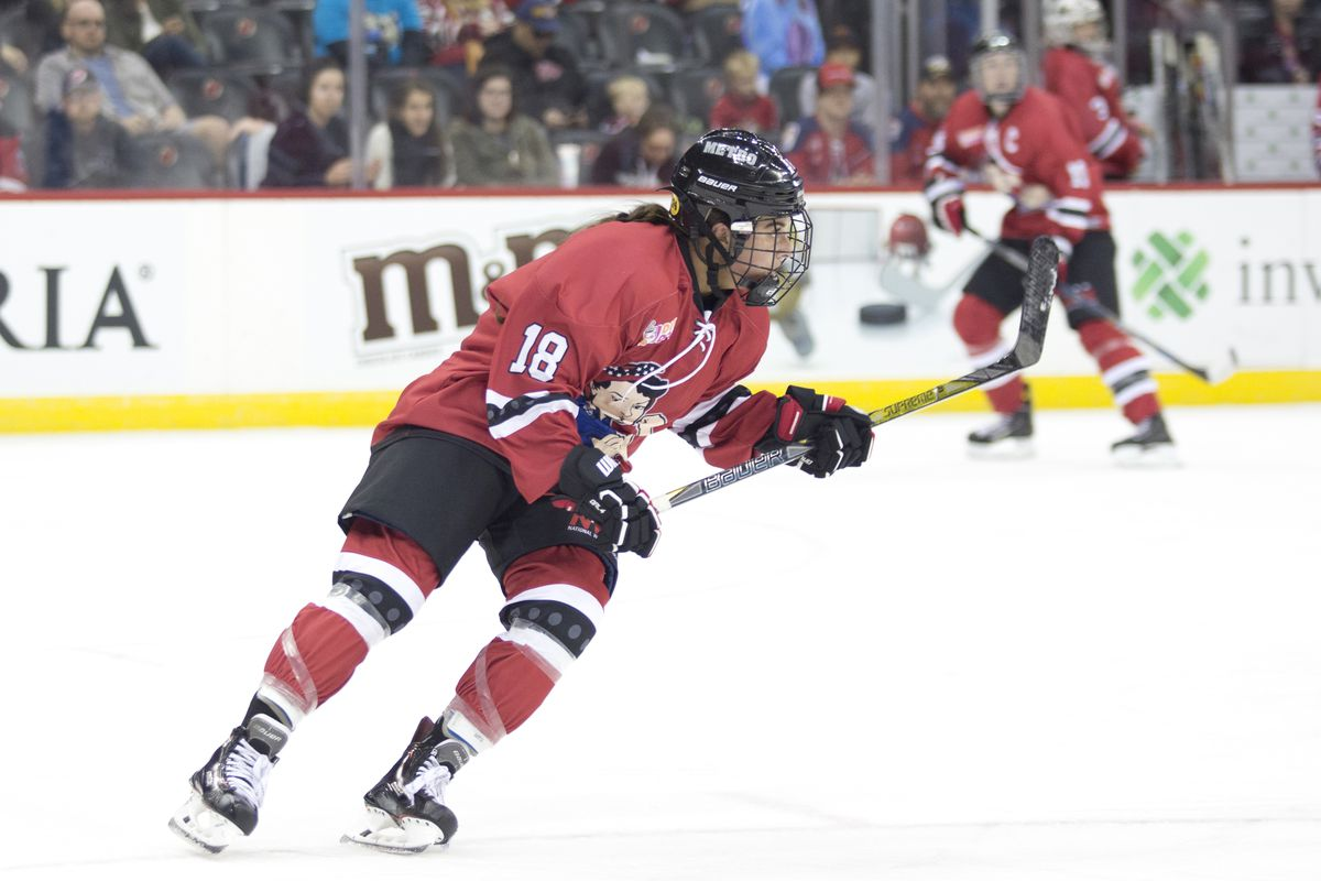 9d45ad188fb The Riveters playing for Team NWHL are ready for Team USA - The Ice ...