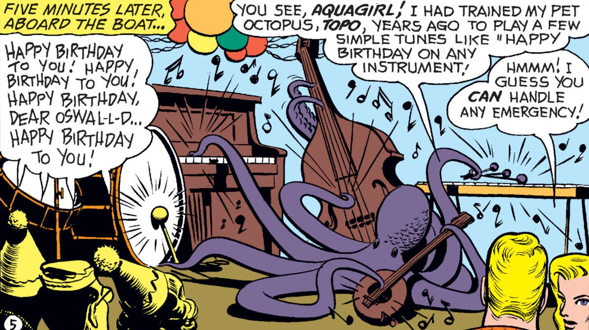 Aquaman Director That Octopus Playing The Drums Is An Easter Egg