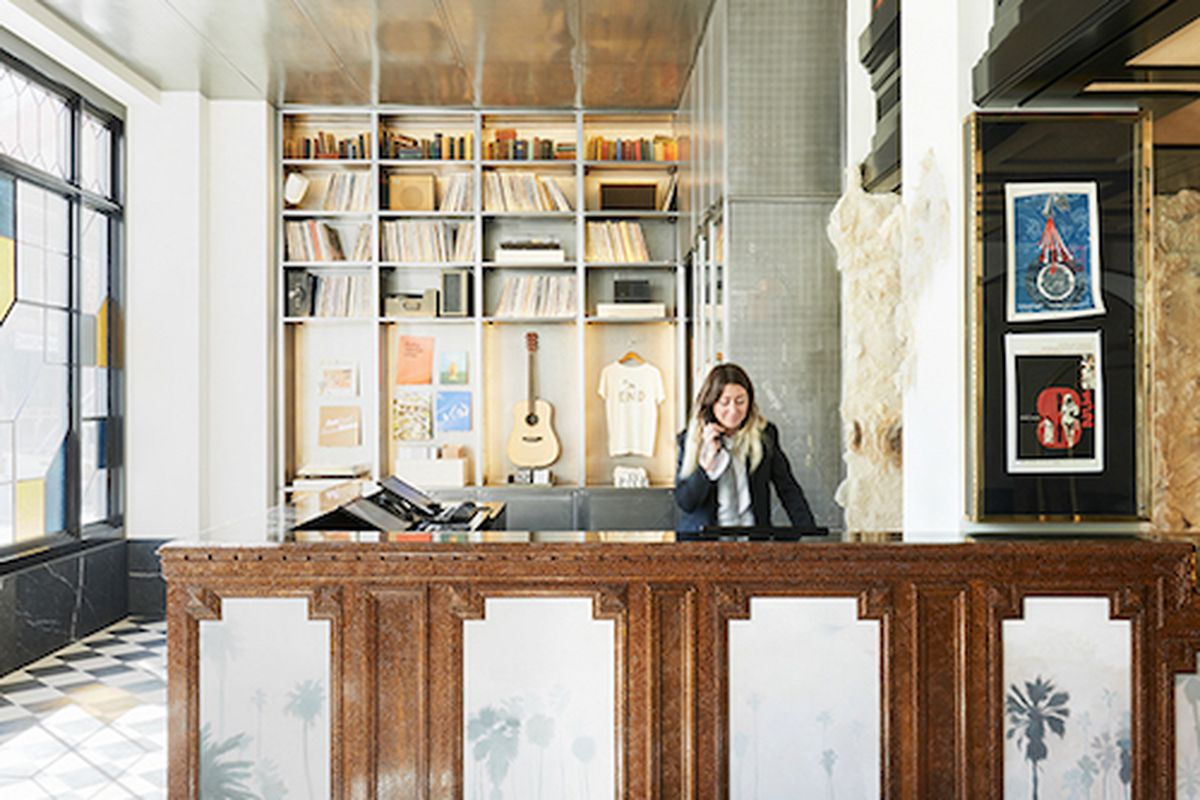 Ace Hotel Renovation In Downtown Los Angeles California 2014 By Commune A National Design Award Winner For Interior All Photos Via Cooper Hewitt