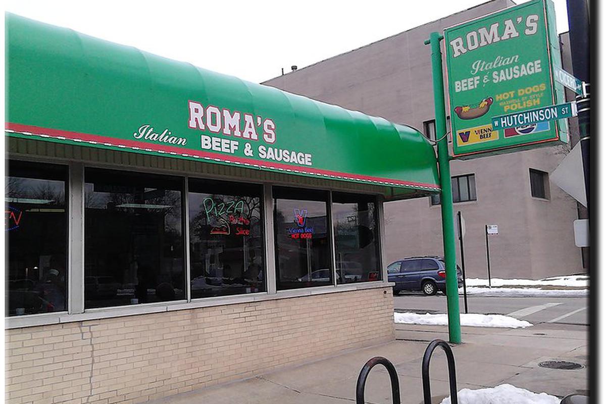 Roma's Italian Beef & Sausage