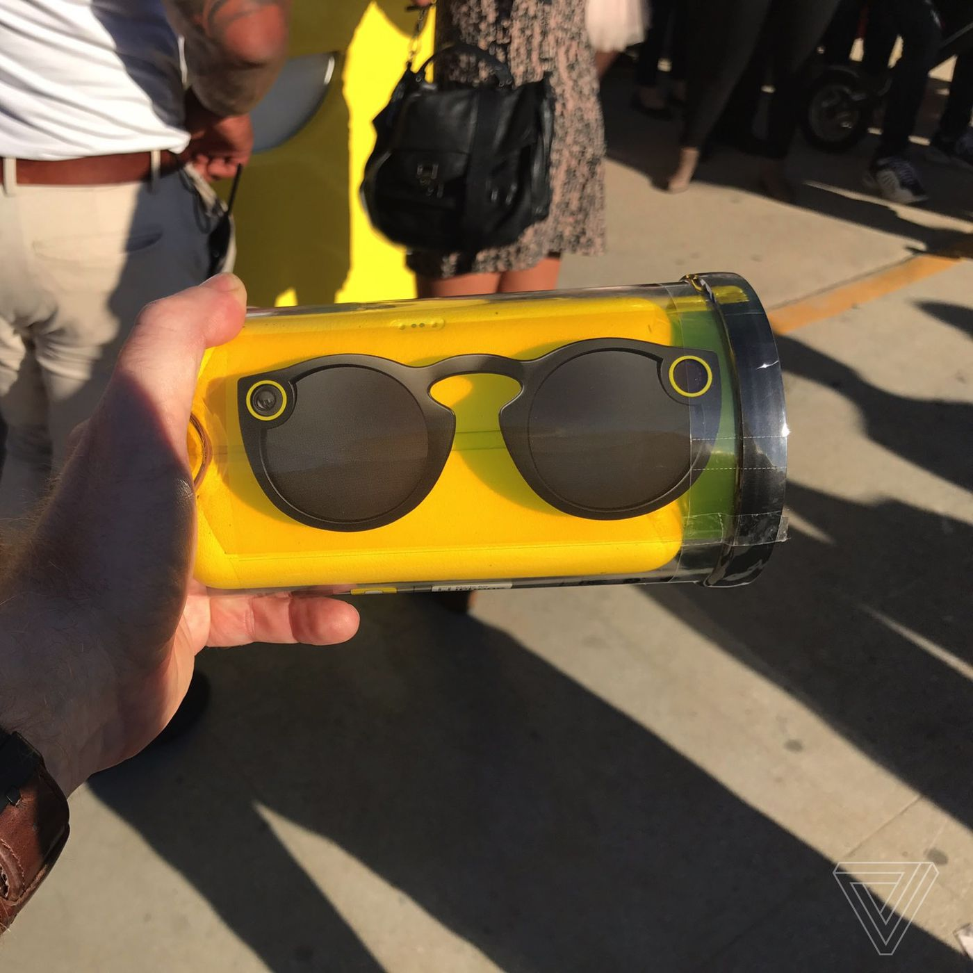 a1384f1a08 Snapchat Spectacles are going for hundreds of dollars on eBay - The Verge