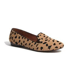 """""""I'm loving the teddy loafer in calf hair ($148). It's such a playful version of animal print!"""""""