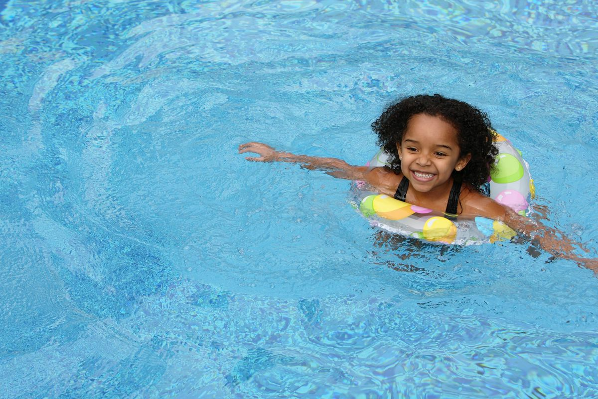 Keeping black people away from white swimming pools is an ...