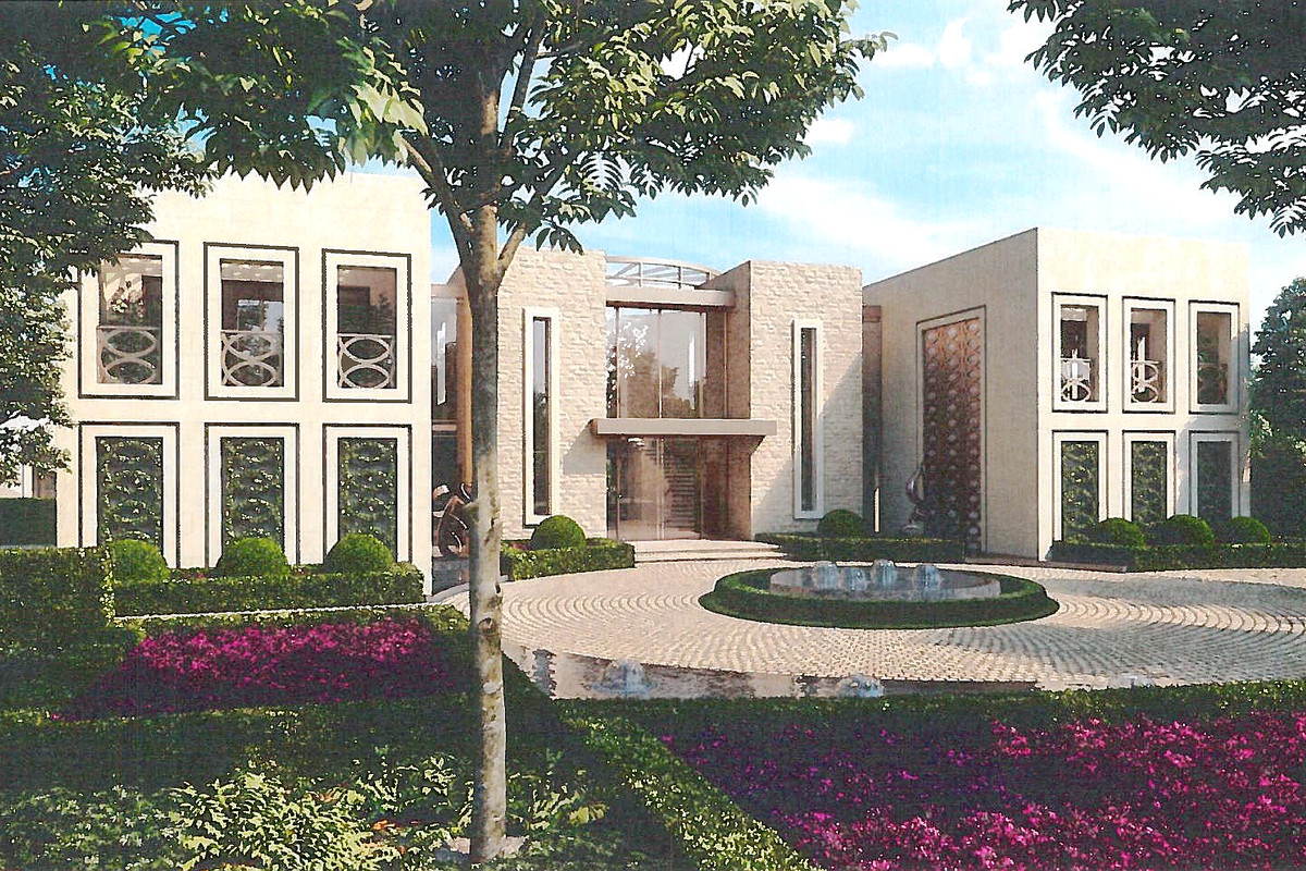 Megamansion architect richard landry gets go ahead for for Beverly hills celebrity homes map