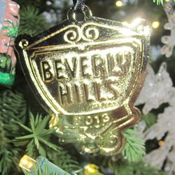Beverly Hills ornament, $15.