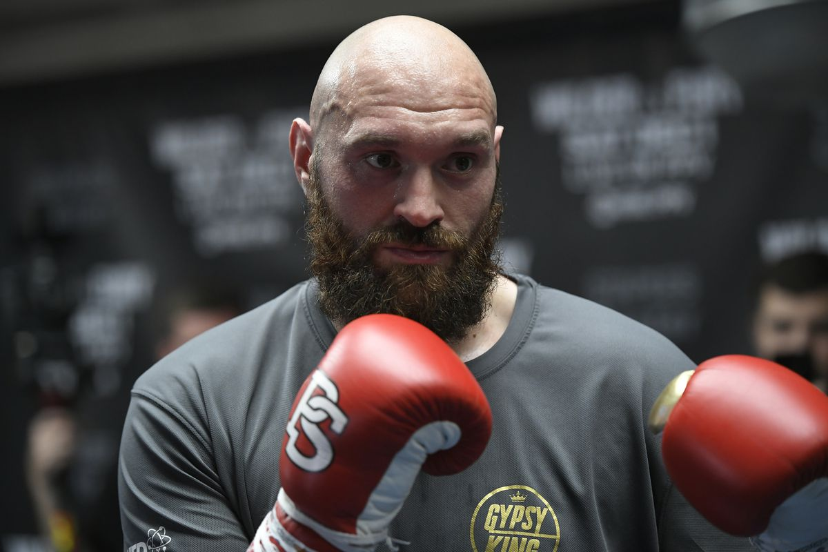 Tyson Fury events cancelled after graffiti threatens repeat of