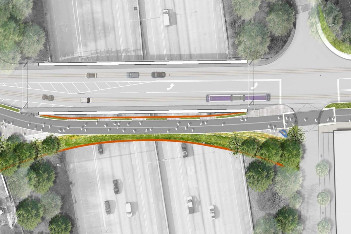 Atlanta Beltline Lifts Veil On I 20 Pedestrian Bridge Southside
