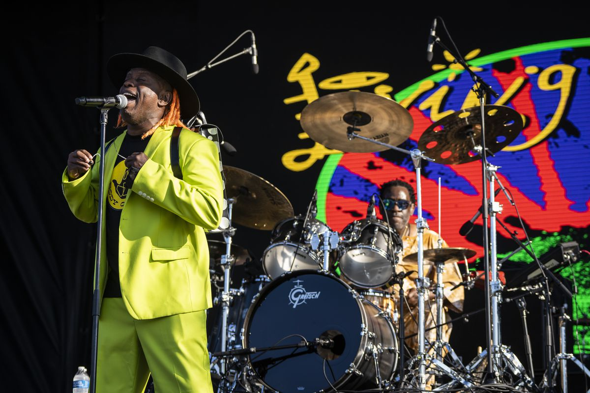 Living Colour performs on Day 2 of Riot Fest in Douglass Park.