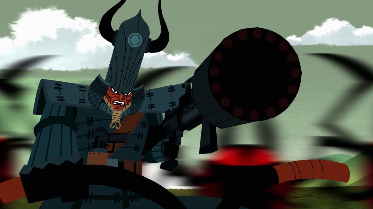 Samurai Jack Returns Deeper Darker And More Violent Than Ever
