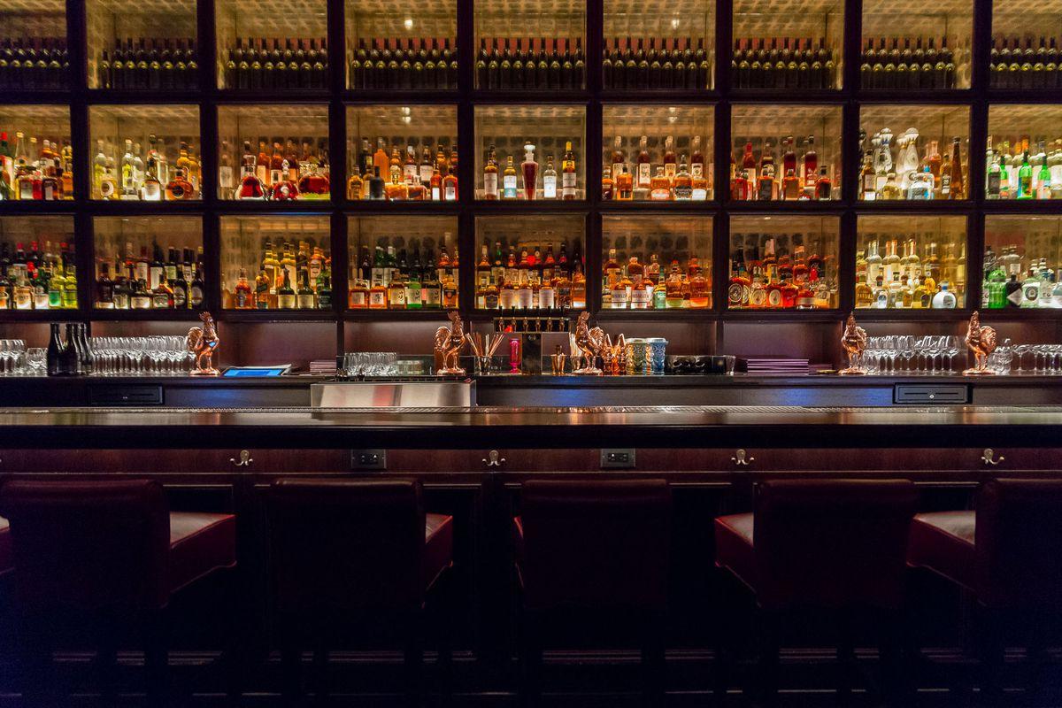 The bar at NoMad Restaurant