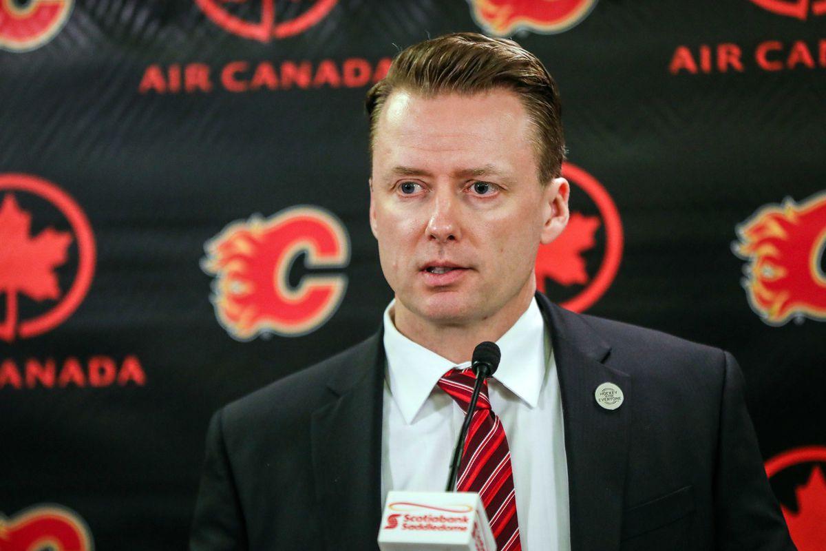 NHL: San Jose Sharks at Calgary Flames