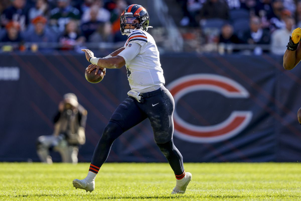 Justin Fields is showing promise, but the Bears are still the worst passing team in the NFL.