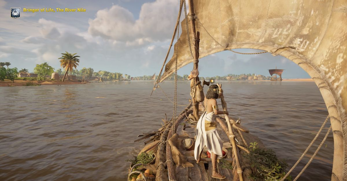 Assassin's Creed Origins' new educational mode is a violence-free tour through ancient Egypt