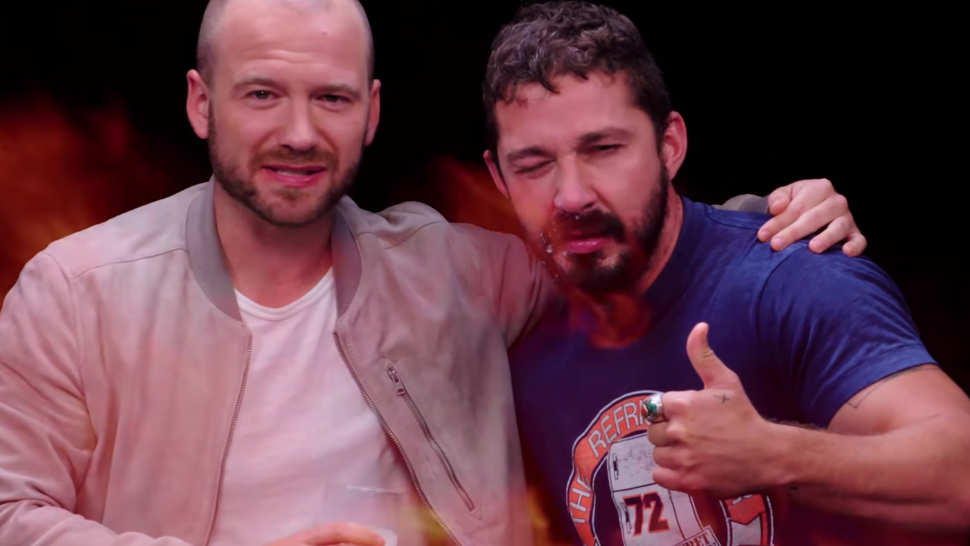 Shia LaBeouf On 'Hot Ones' Is The Most Important Thing Today