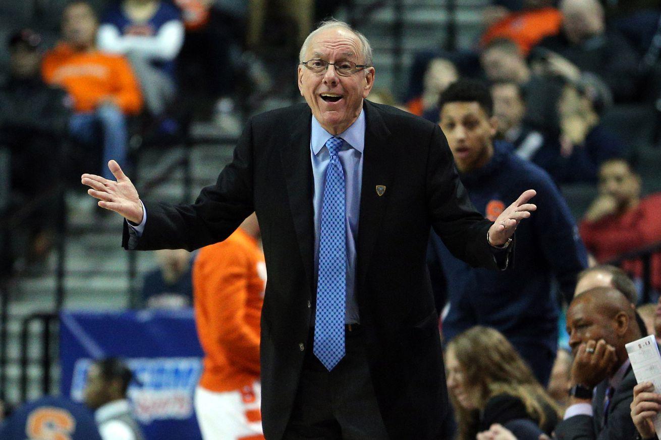 Syracuse Men S Basketball Left Out Of Updated Espn Bracketology
