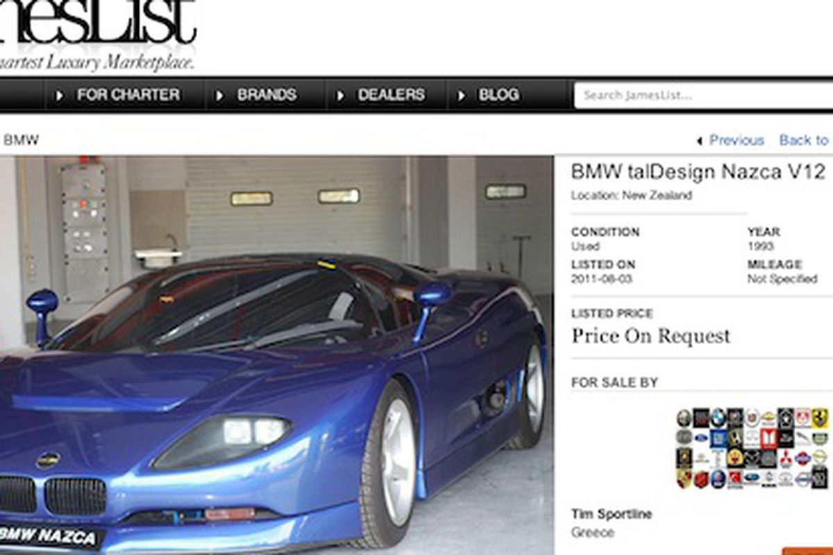 The sultan of brunei is selling 21 cars online at jameslist