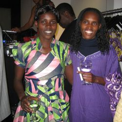 Master seamstresses Therese Iribagiza and Emelienne Nyiramana