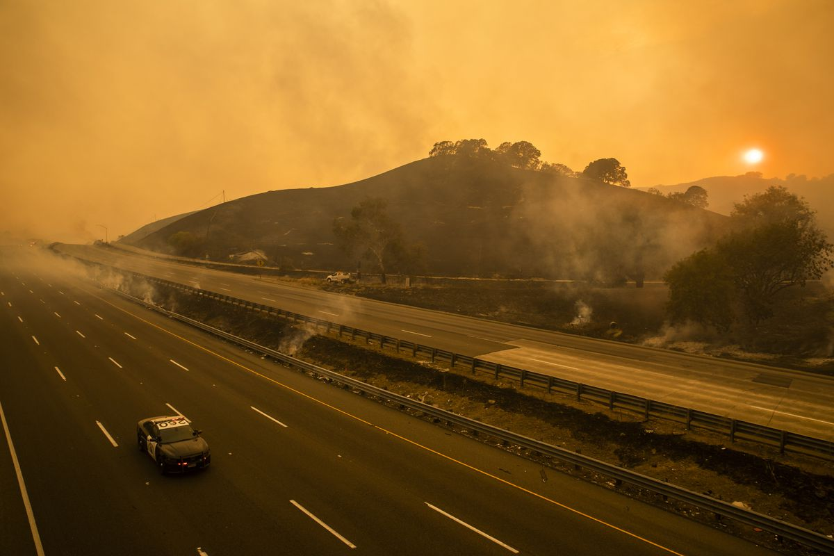 More Than 360 Fires Burn In California With Heat Holding On