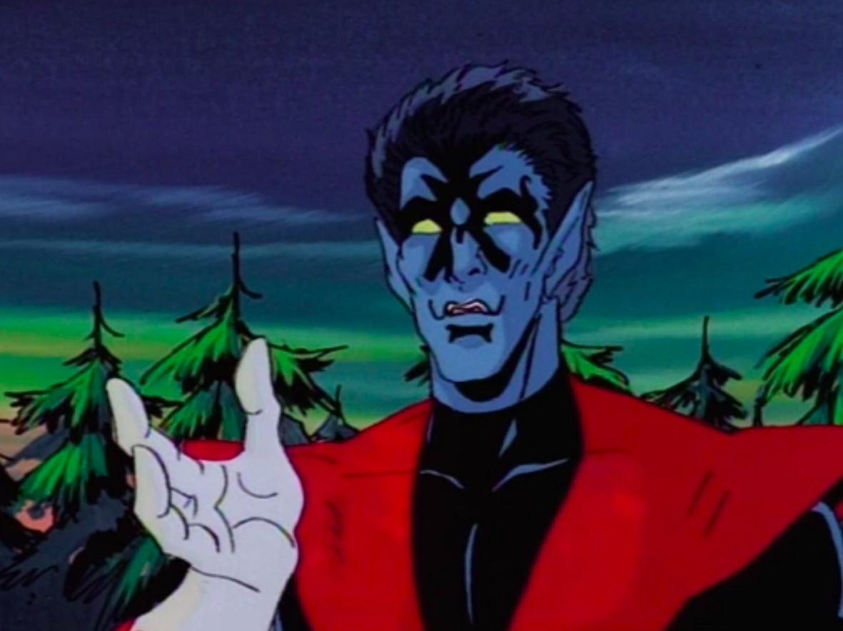 Nightcrawler in X-Men: The Animated Series