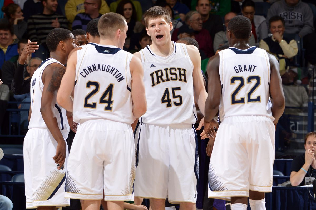 Jack Cooley was the man for ND this week
