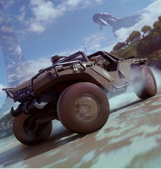 Forza Horizon 4 is getting a Halo driving experience with Master