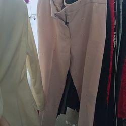Voyage pants in blush, $35