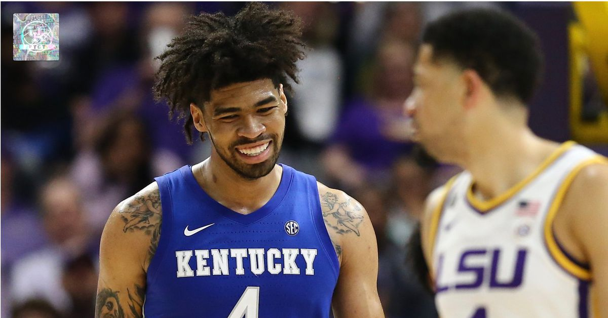 UK Basketball: Twitter reactions to Kentucky's avenue steal in opposition to LSU - A Sea Of Blue thumbnail