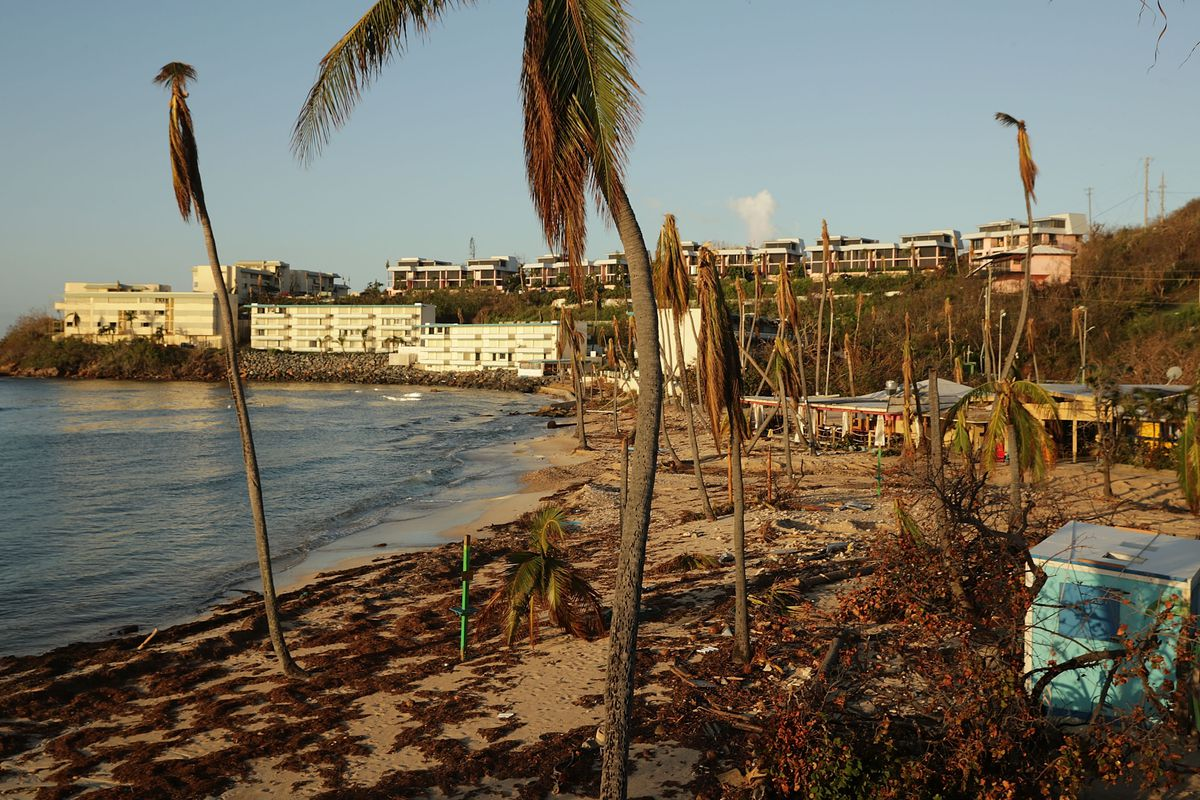 U.S. Virgin Islands Continues Major Recovery Efforts After Hurricane Irma Devastated The Islands