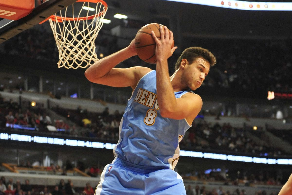 Danilo Gallinari. One of the many things to love about the Denver Nuggets.