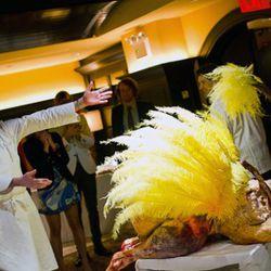 Mark Ladner's ostrich carcass