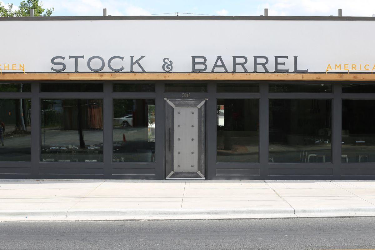 Stock & Barrel.