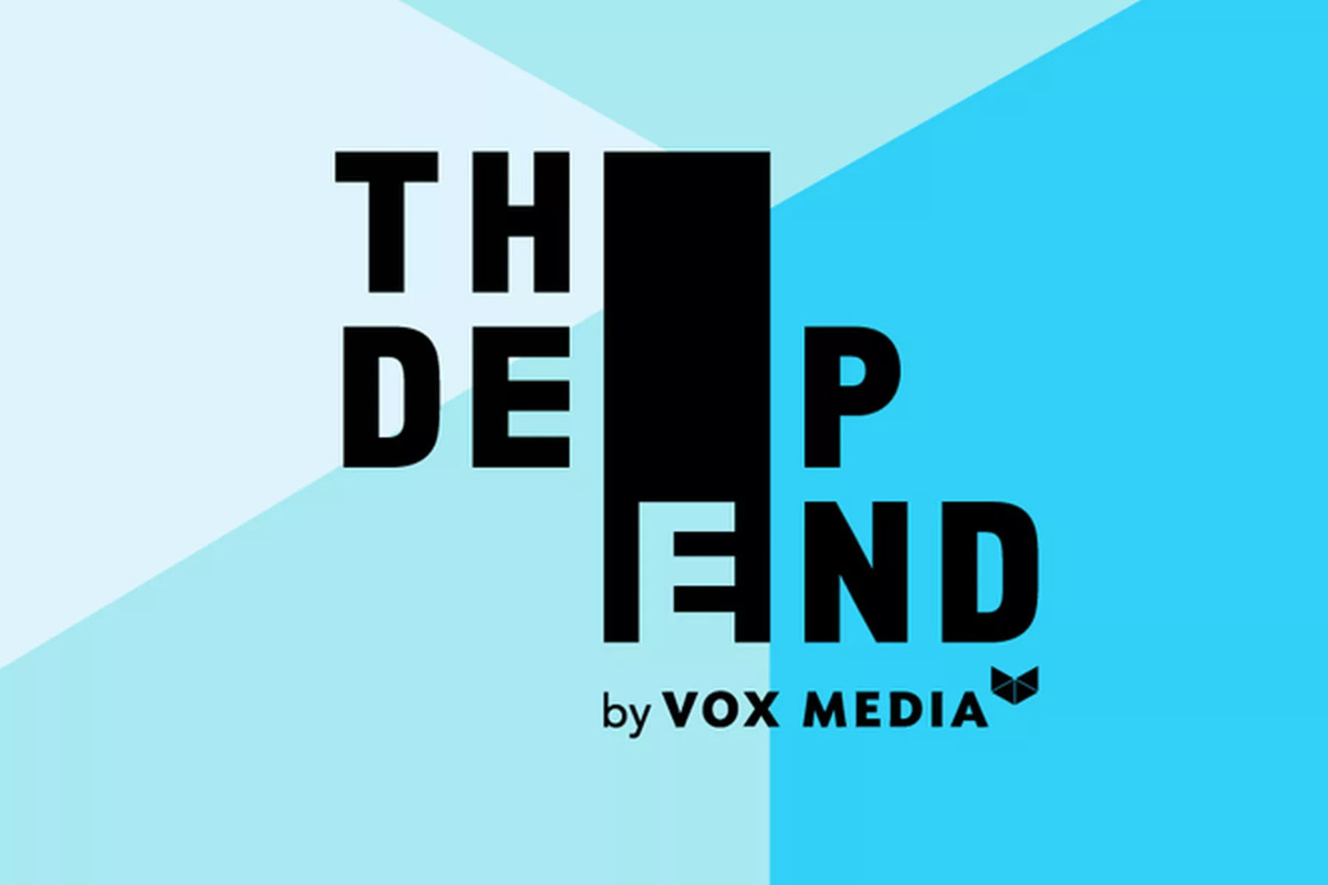 """""""The Deep End by Vox Media"""" SXSW logo"""