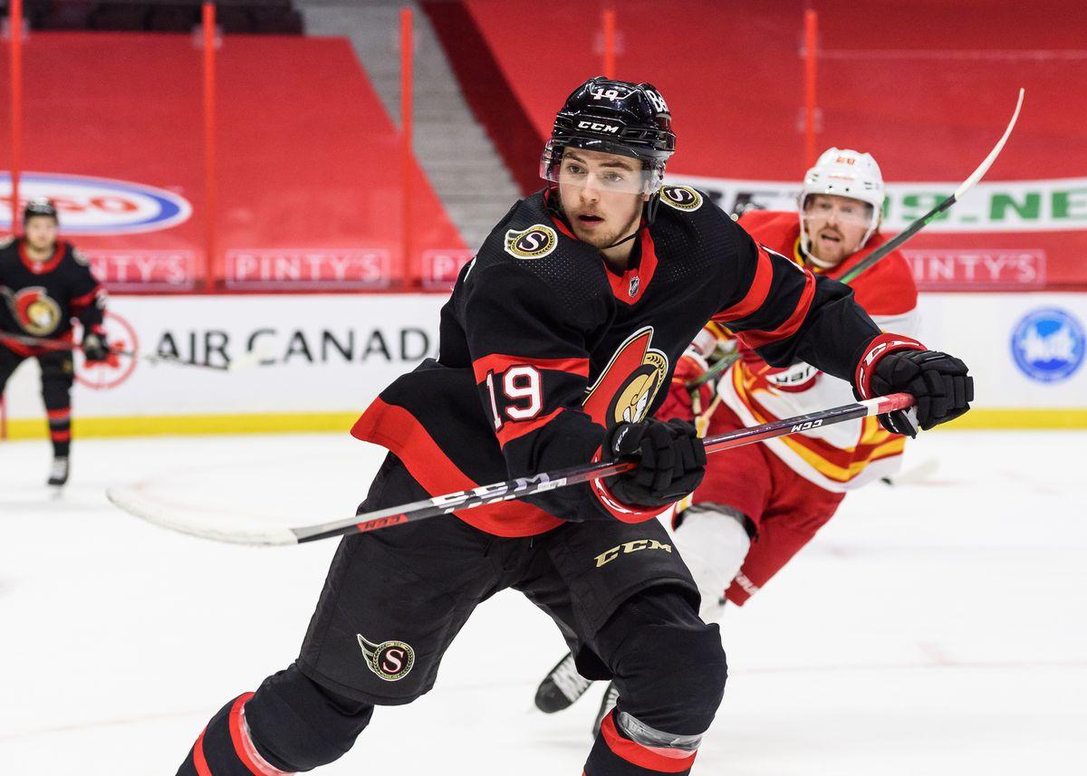 NHL: FEB 25 FLAMES AT SENATORS