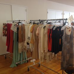 Small and extra-small dresses and tops