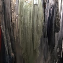 Couture dress, $1,100