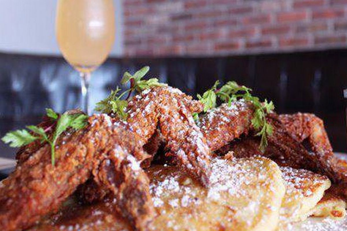 Jake Cakes and Wings will be on the new late night brunch menu at Max's Wine Dive.