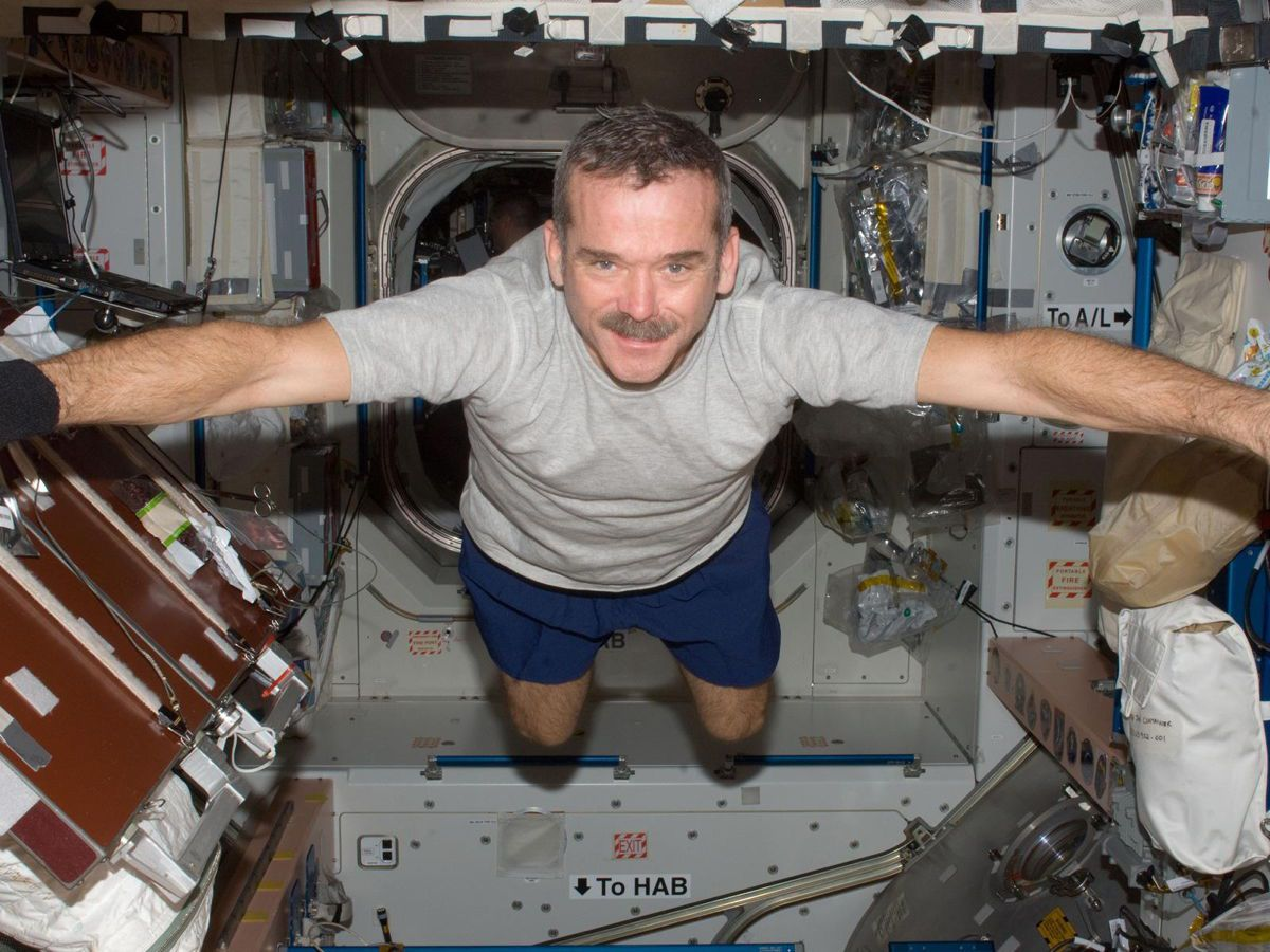hadfield space station