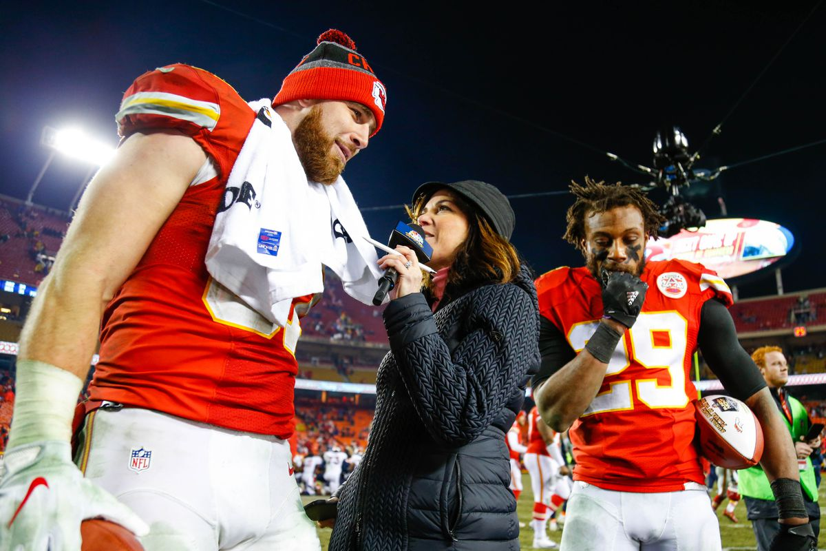 new products 4d3bd e49be KC Chiefs TE Travis Kelce talks Patrick Mahomes, Eric Berry ...