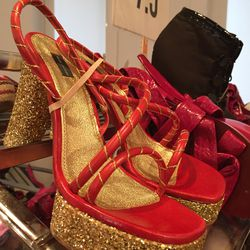 Sample shoes, $50