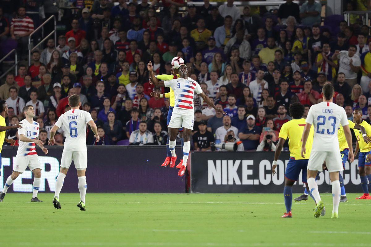 Soccer: International Friendly Soccer-Ecuador at USA