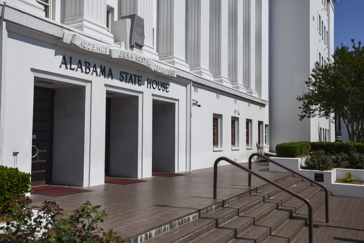 The Alabama State House in Montgomery, Alabama, pictured on May 15, 2019