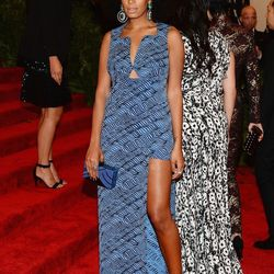 Solange in an amazing Kenzo