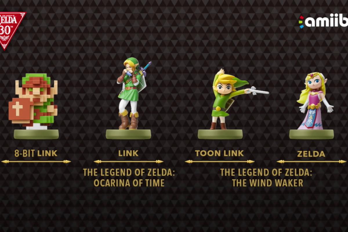 The legend of zelda special series link zelda amiibo coming this