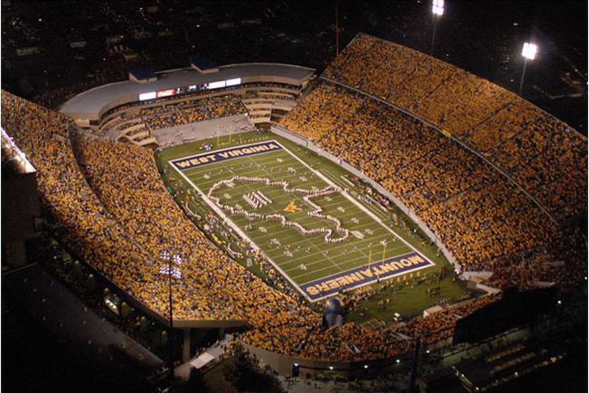 The History Behind West Virginia S Best Stadium Visual The